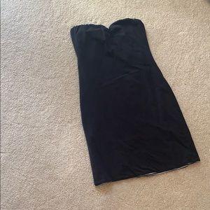 RipCurl Reversible black/stripped strapless dress